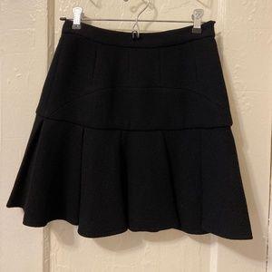 Alexander Wang pleated wool skirt